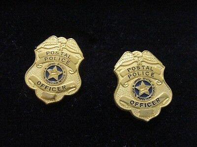 vintage Pair united states postal police officer  cufflinks