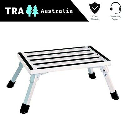 Portable Folding Step Caravan Camping Rv Accessories Ladder Stool Camper Trailer