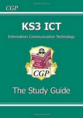 KS3 ICT Study Guide: Study Guide Pt. 1 & 2 by CGP Books Paperback Book The Cheap