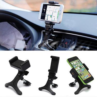 Support Voiture Smartphone Telephone Mobile Gps Grille Aeration Air Vent Mount