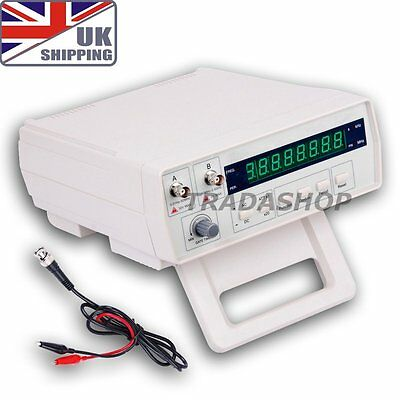 UK VC3165 Radio Bench Frequency Counter RF Meter 0.01Hz~2.4GHz Tester