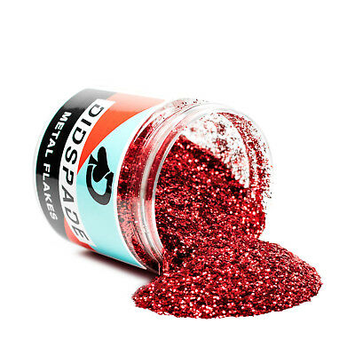 6oz Roulette Red Metal Flake 0.015