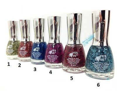 Vernis A ongles Transparent Effet Plumes - BLEU - YES LOVE - 15ml Port 0€ - 483