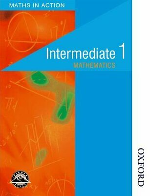 Maths in Action - Intermediate 1 Students' Book (Math... by Thomson, J Paperback