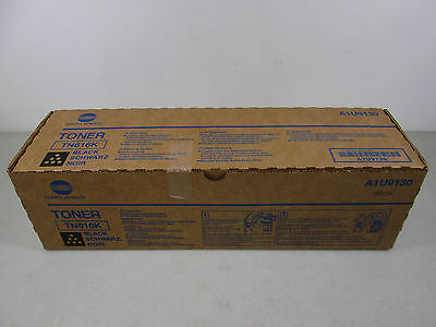 Konica Minolta TN616K Black Toner Cartridge A1U9130 OEM  NEW IN BOX