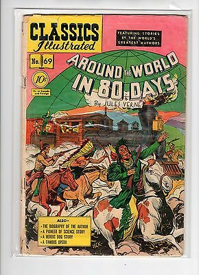 Classics Illustrated #69 HRN 70 (Original) GDVG Henry Kiefer
