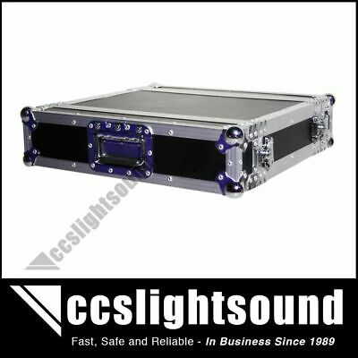 2Ru Rack Road Case With Front And Rear Lids