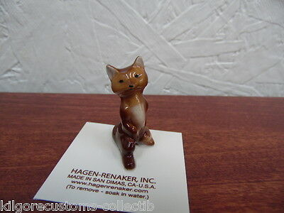Hagen Renaker Papa Fox Figurine Miniature 0179 FREE SHIPPING New