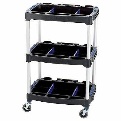 Draper 3 Tier / Shelf Workshop / Garage / Tools Trolley / Cart - 04612