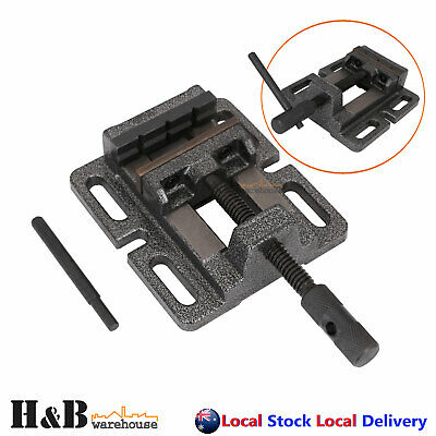 "3"" 75mm Professional Cast Iron Drill Press Vice Bench Vise Clamp Precision T0298"