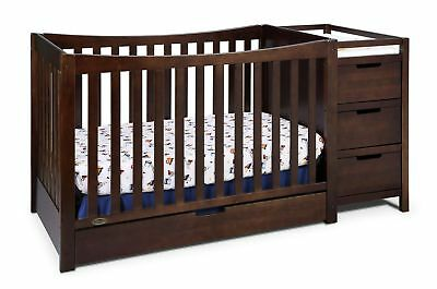 Graco Remi 4-in-1 Convertible Crib and Changer