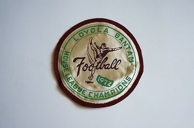Loyola bantam football 1972 House League Champions patch, Montreal Quebec