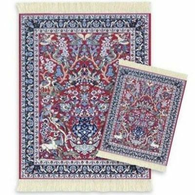 Mouserug Mouse Pad & Coaster Rug Set Tree Of Life Rugs Oriental Miniatures New