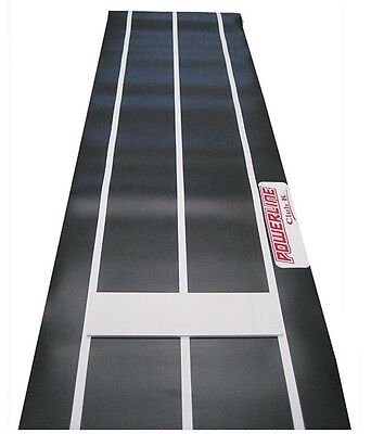 CLUB K POWERLINE Fastpitch Softball Indoor Outdoor PITCHING Rubber MAT 3' x 8'