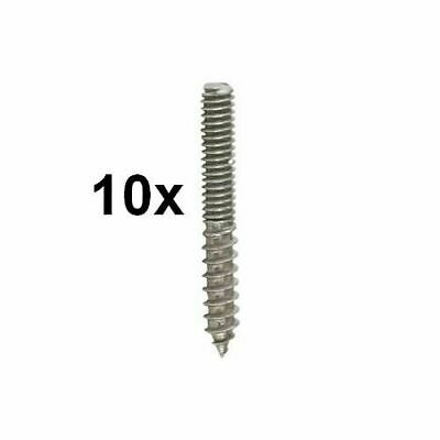 "10 Tap Handle Bolts 5/16""- 18 (DIY Tap Handles) - Hanger Bolt Mount Screws - Bar"