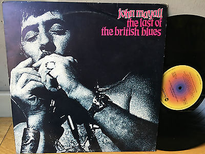 LP ITALY  1978  John Mayall – The Last Of The British Blues Label: ABC Records