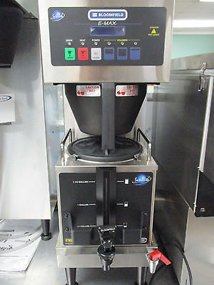 New Bloomfield Automatic Coffee Brewer with Satellite Hot Coffee Holder