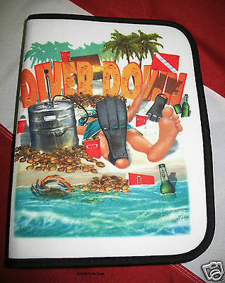 Logbook Binder scuba diving equipment free logpage ChristmasGift training LBO741