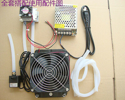 TOTAL DIY MINI Thermoelectric Cooler air conditioner 12V 50W TEC1-12706 parts