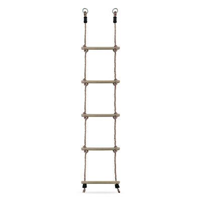 HIKS® Rope Ladder for Childrens Kids Outdoor Climbing Frame, Tree House