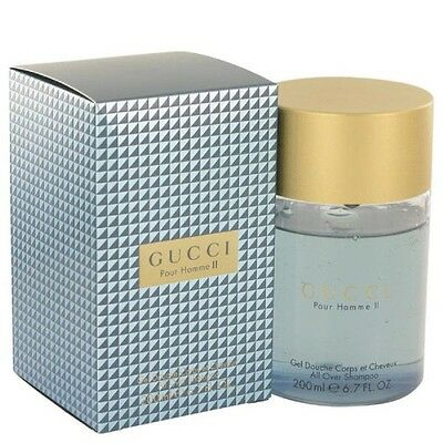 Gucci Pour Homme Ii De Gucci All Over Shampooing 200ml*** NEUF