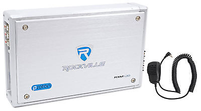 Rockville RXM-S20 Micro Marine/ATV Amplifier 1600w Max 4 Channel 4x100/CEA Rated