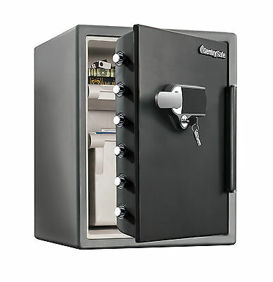Sentry Safe Water Resistant Dual Combination Fire Safe 2.05 CuFt
