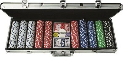 Triumph Sports USA 500 PC Poker Chips Set with Case