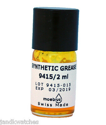 Moebius 9415 Swiss Synthetic Grease for Pallets – 2ml
