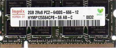 2GB Memory RAM Compatible with Dell Latitude 2110 Notebook DDR2 1x2GB A38