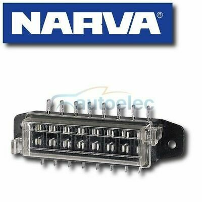 Narva 8 Way Blade Fuse Block Box Holder Caravan Marine Battery 12 Volt 12V 54424