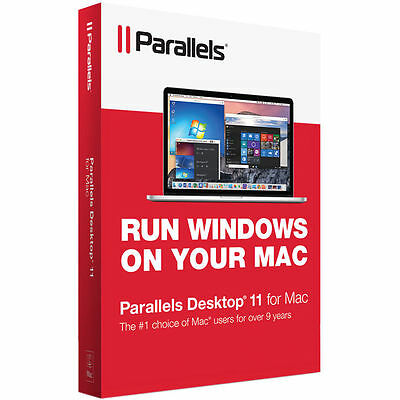 Parallels Desktop 11 for Mac ✔Brand NEW✔Seal✔Fast Shipping