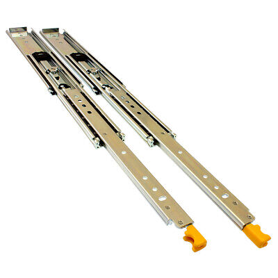 1250mm 227kg Locking Drawer Slides/Fridge Runners 4WD Cargo Trailers Heavy Duty