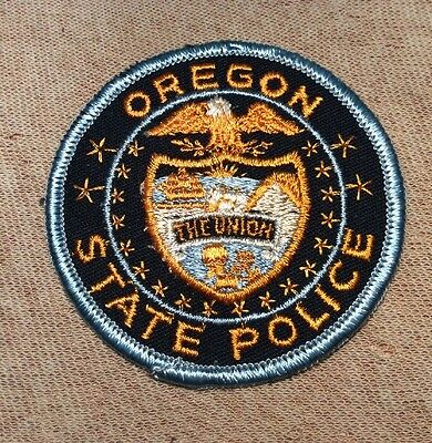 OR Oregon State Police Patch
