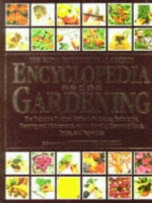 The RHS Encyclopedia of Gardening ~ The Definitive Practical Guide t... Hardback