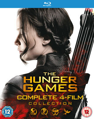 The Hunger Games: Complete 4-film Collection DVD (2016) Jennifer Lawrence