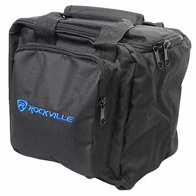 Rockville RLB90 Universal Travel Bag Fits 2x Par Lights+Controller+Cables