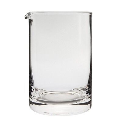 Behind The Bar™ Hand Blown Cocktail Mixing Glass - w/Pour Spout - 600ml / 20oz