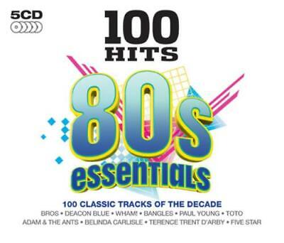 Various Artists : 100 Hits: 80s Essentials CD (2016)