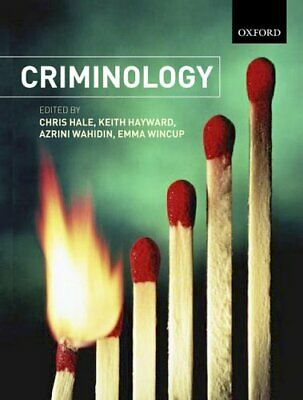 Criminology Paperback Book The Cheap Fast Free Post