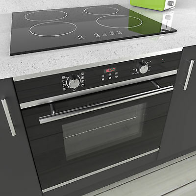 MyAppliances REF50395 60cm Electric Multifunction Oven & 60cm Induction Hob Pack