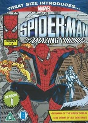Spiderman and his amazing Friends Season DVD Incredible Value and Free Shipping!