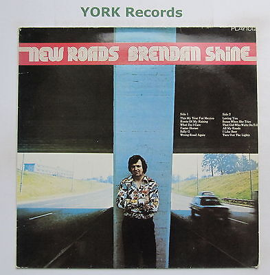 BRENDAN SHINE - New Roads - Excellent Condition LP Record Play PLAYLP 1012