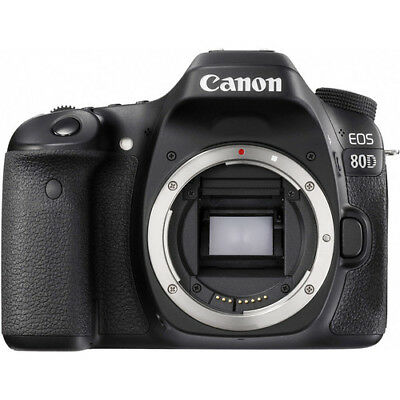 Canon EOS 80D 24.2MP DSLR Camera (Body Only) with Built-In Wi-Fi #1263C004
