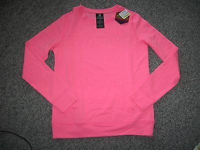UNDER ARMOUR Women's INFRARED ColdGear Loose Fit Pullover Sweatshirt,MSRP-$49.99
