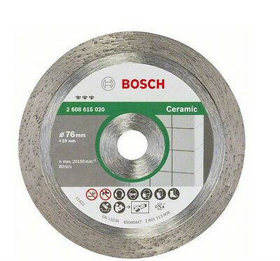 Bosch disk diamond stoneware hard for MINI GRINDER GWS 10,8-76 V-EC