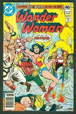 Wonder Woman #268 (DC comics 1980) 1st Lumberjack -Supergirl TV show! FN