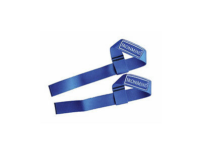 IronMind Strong Enough Lifting Straps - weightlifting powerlifting gym weight