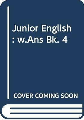Junior English: With Answers Book 4 by Haydn Richards Paperback Book The Cheap