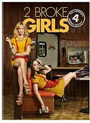 2 Broke Girls: The Complete Fourth Season - 3 DISC SET (2015, DVD New)
